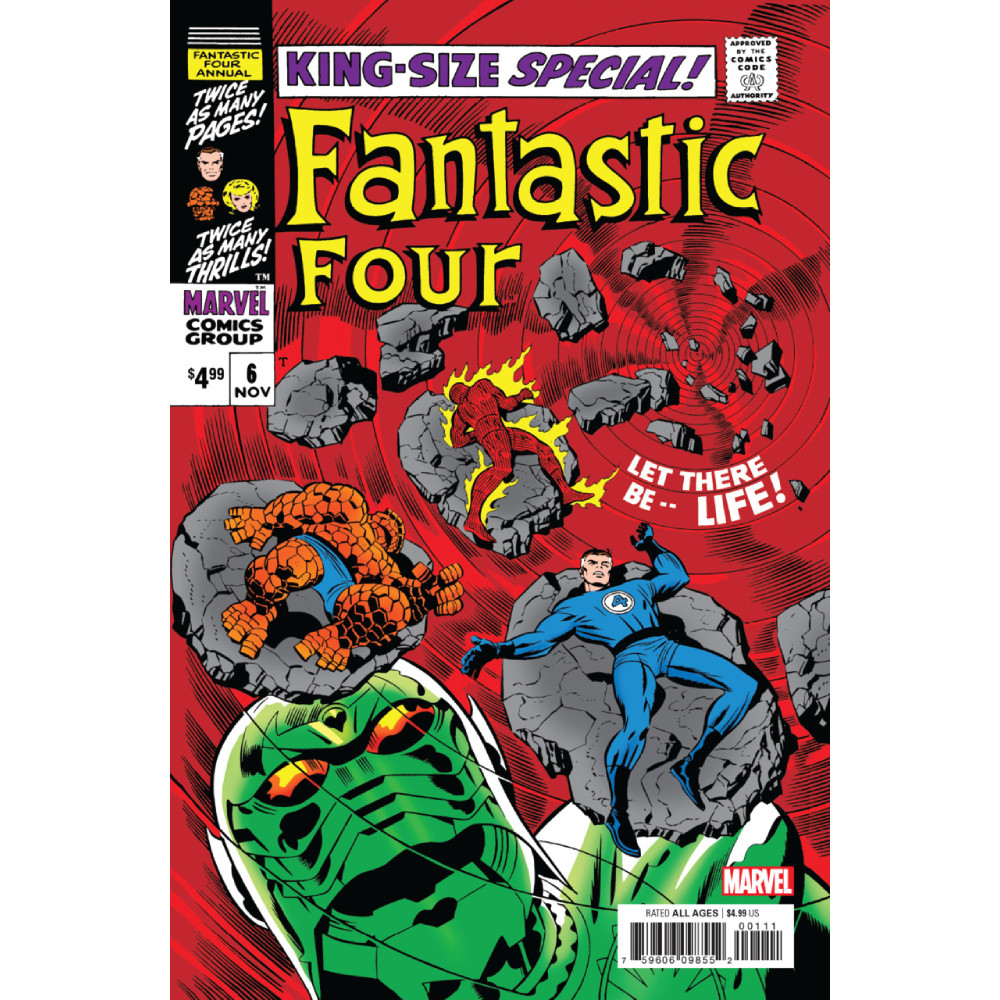 Fantastic Four Annual 06 Facsimile Edition