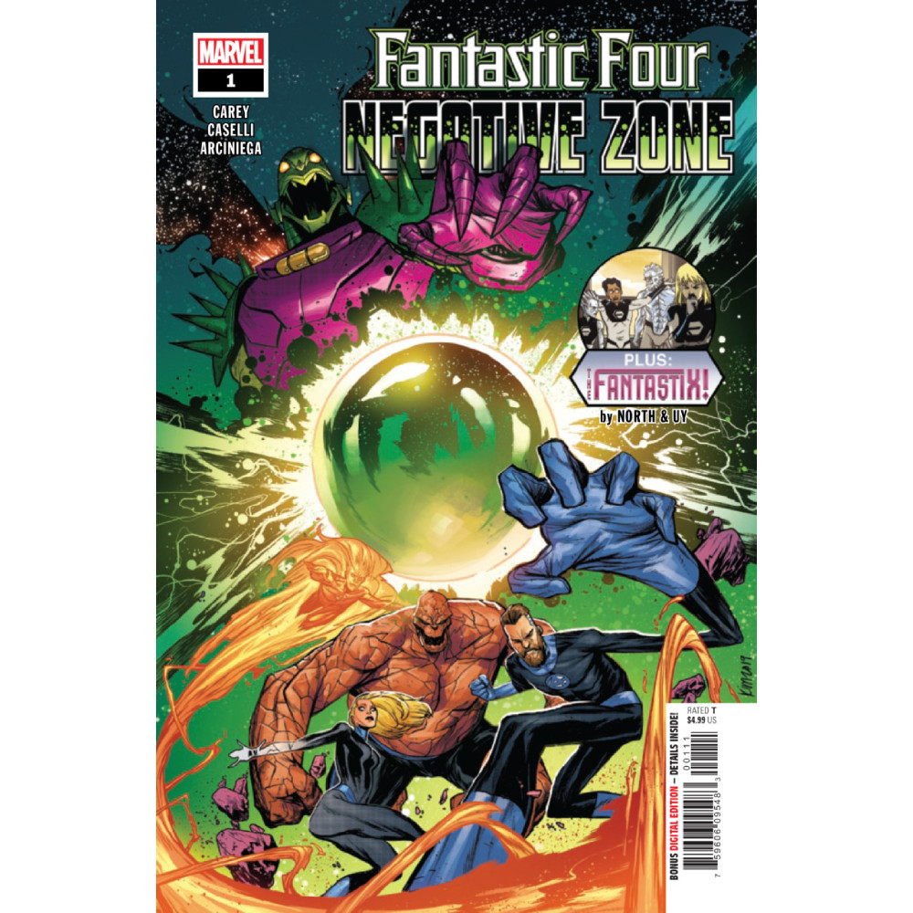 Fantastic Four Negative Zone 01 Coperta B