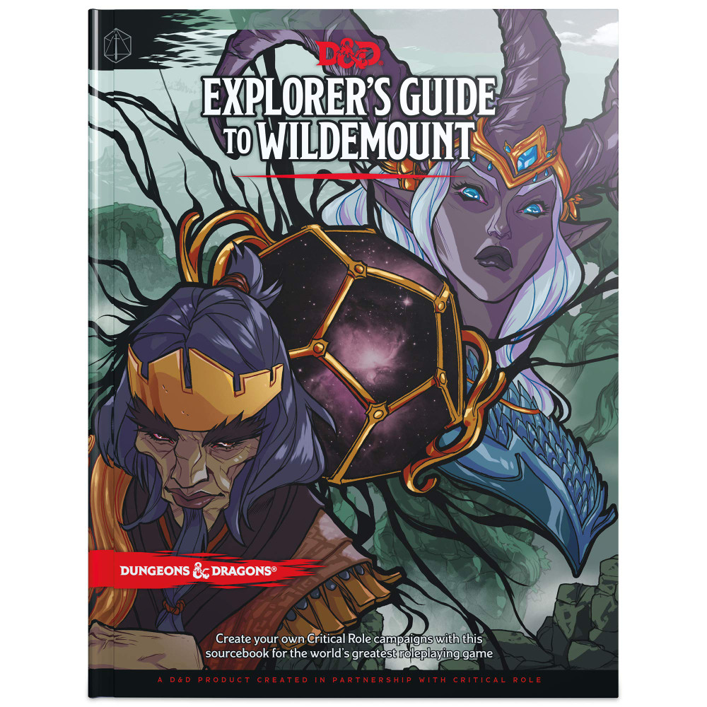 Ghid Dungeons & Dragons Explorer's Guide to Wildemount