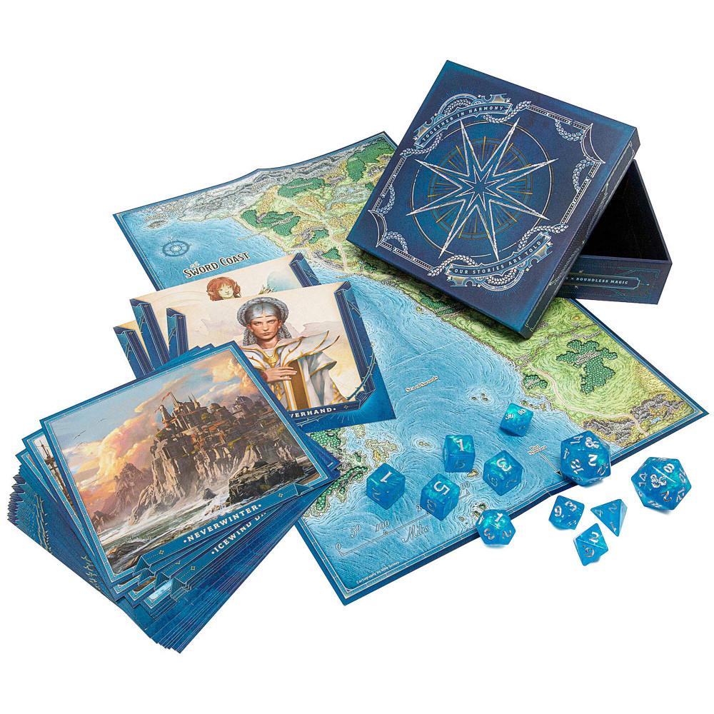 Kit Dungeons & Dragons Forgotten Realms Laeral Silverhand's Explorer's Kit