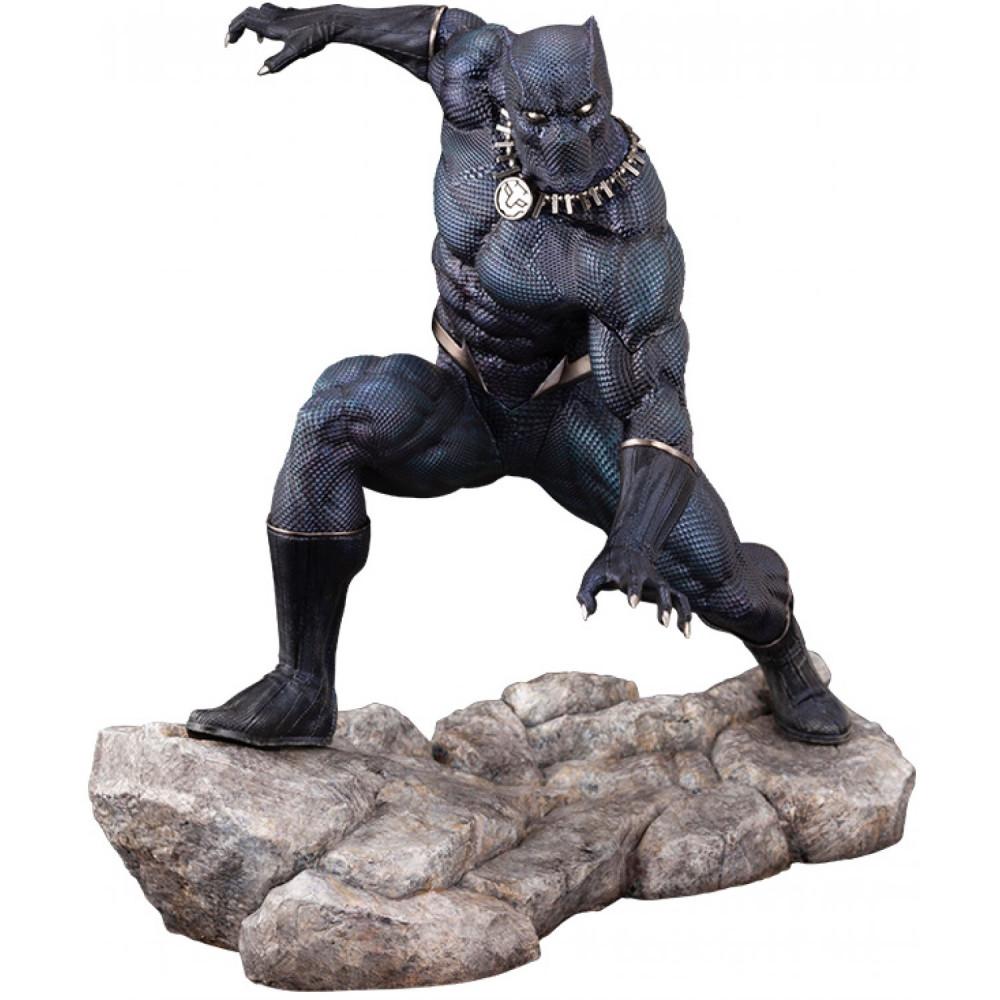 Figurina Marvel Universe ARTFX Premier 1/10 Black Panther GITD 16 cm