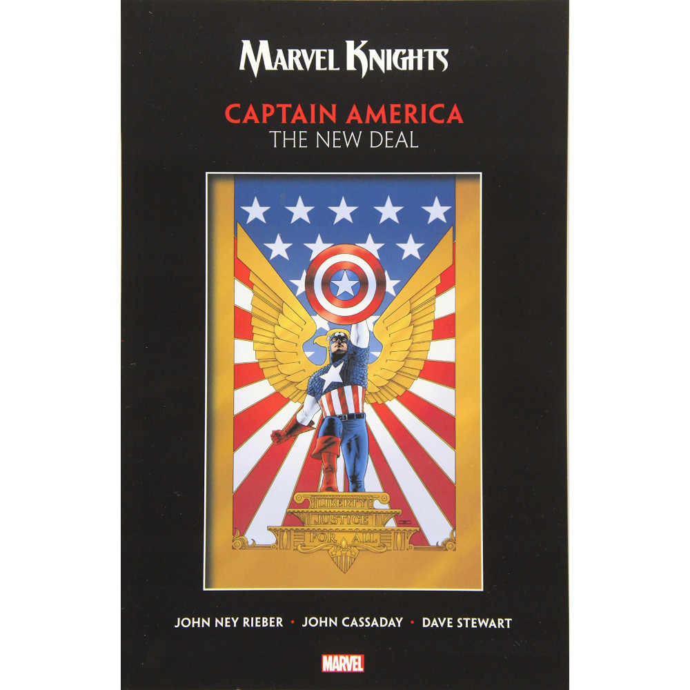 Marvel Knights Captain America TP New Deal