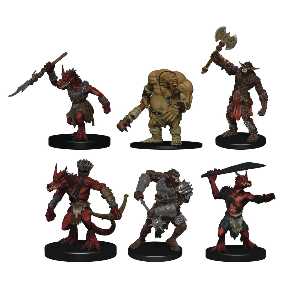 Pachet Miniaturi D&D Icons of the Realms Monster Pack Cave Defenders