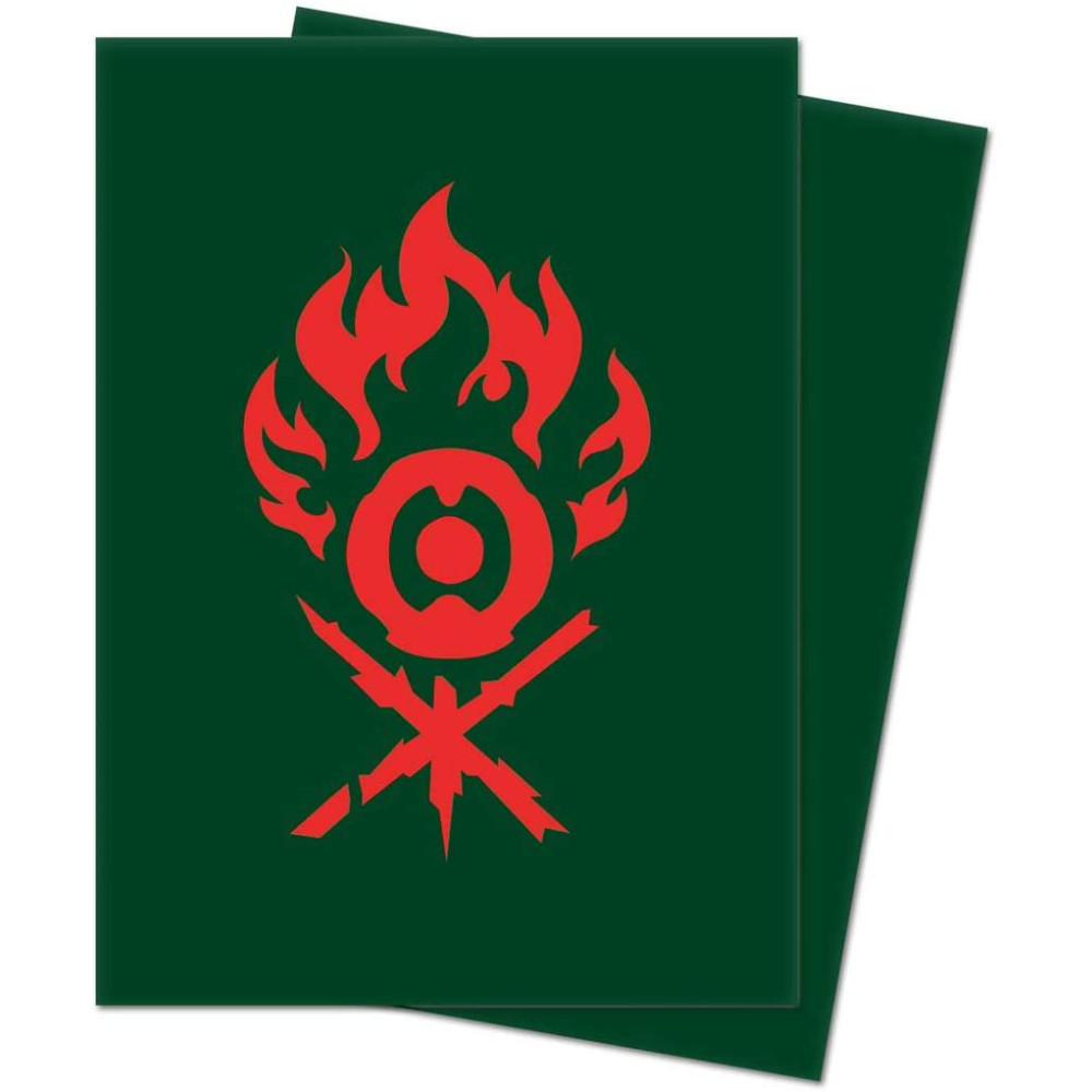 Sleeve-uri Ultra PRO Sleeves Magic The Gathering Guilds of Ravnica Gruul Clans 100 bucati