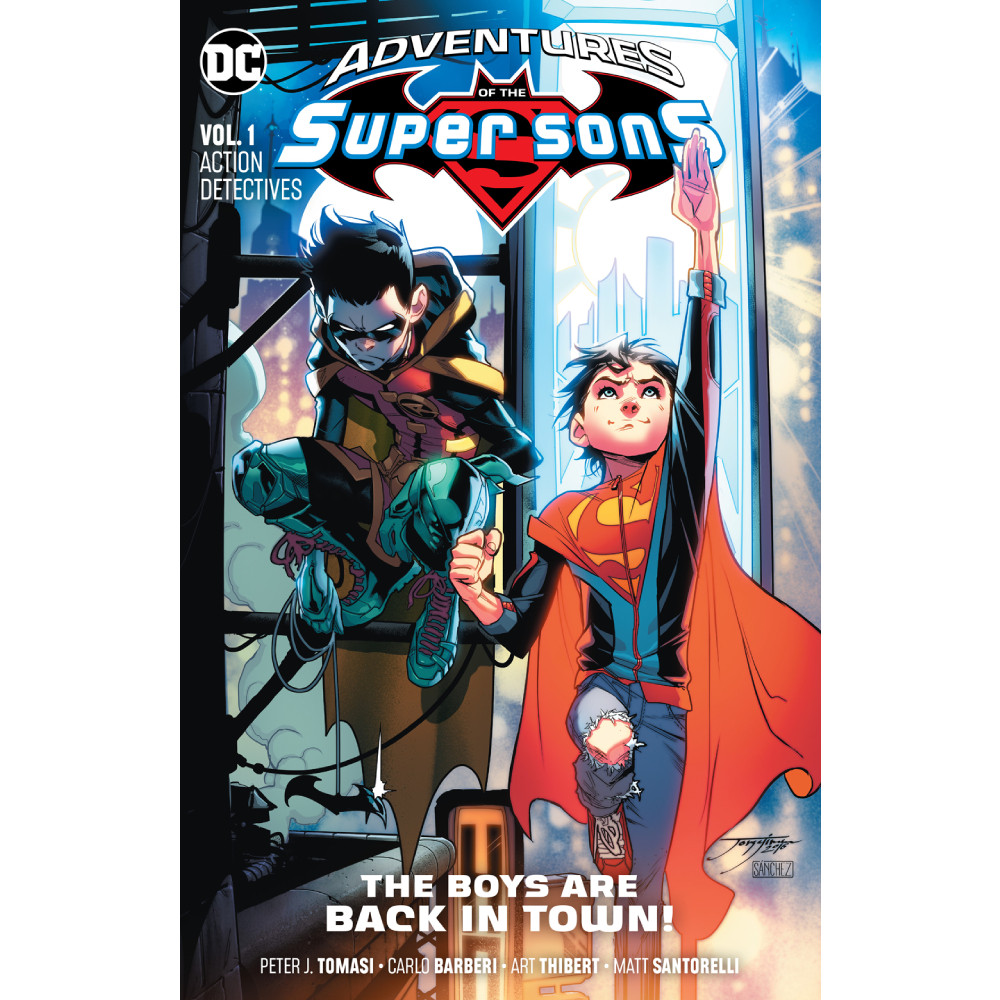 Adventures of The Super Sons TP Vol 01 Action Detective imagine
