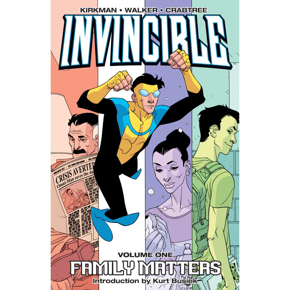 Invincible TP Vol 01 Family Matters