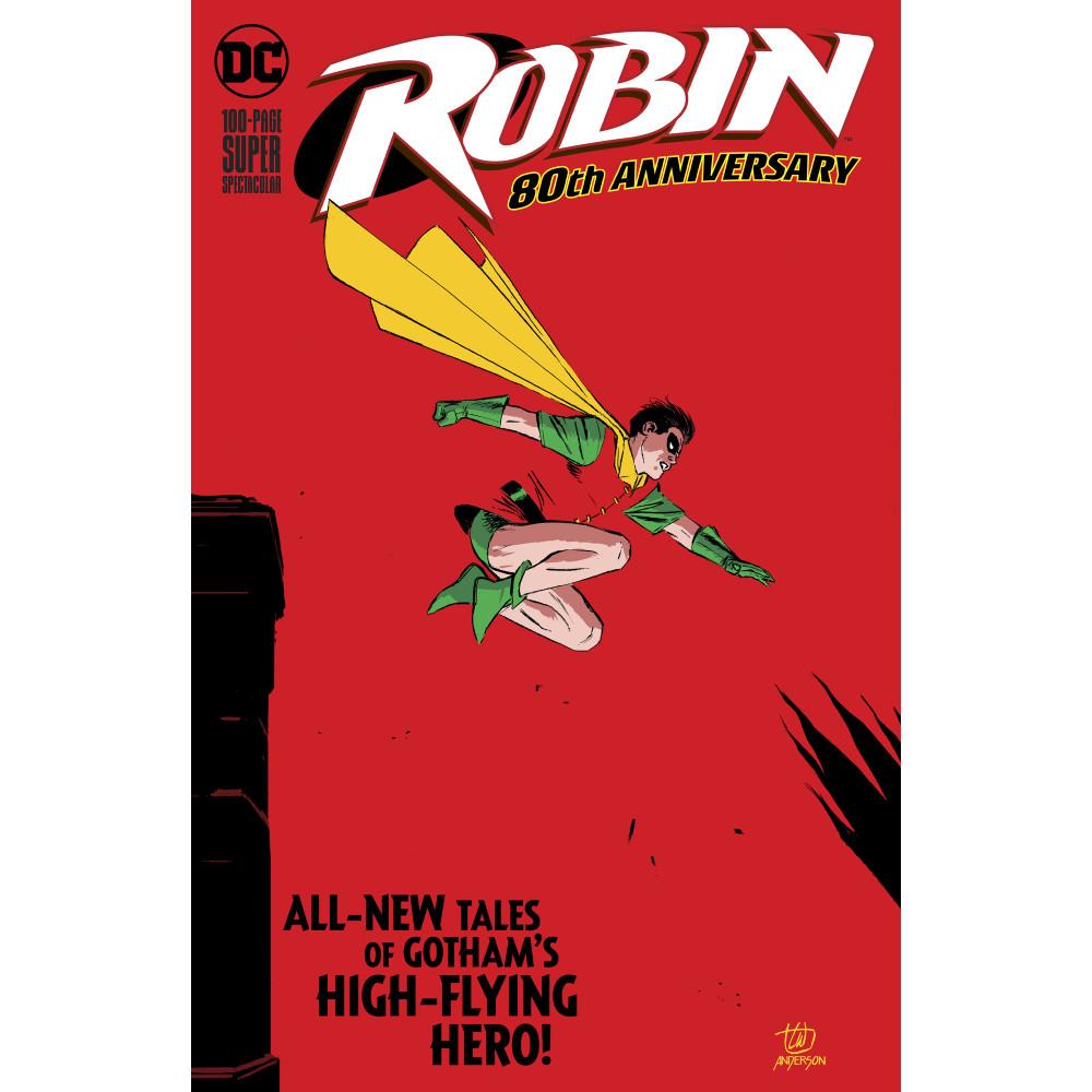 Robin 80th Anniv 100 Page Super Spect Coperta H imagine