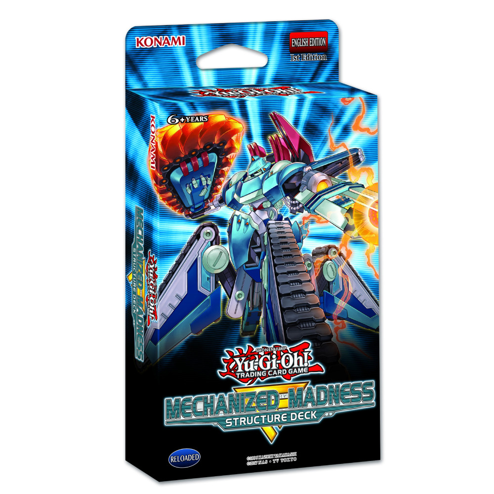 Yu-Gi-Oh! Structure Deck Mechanized Madness