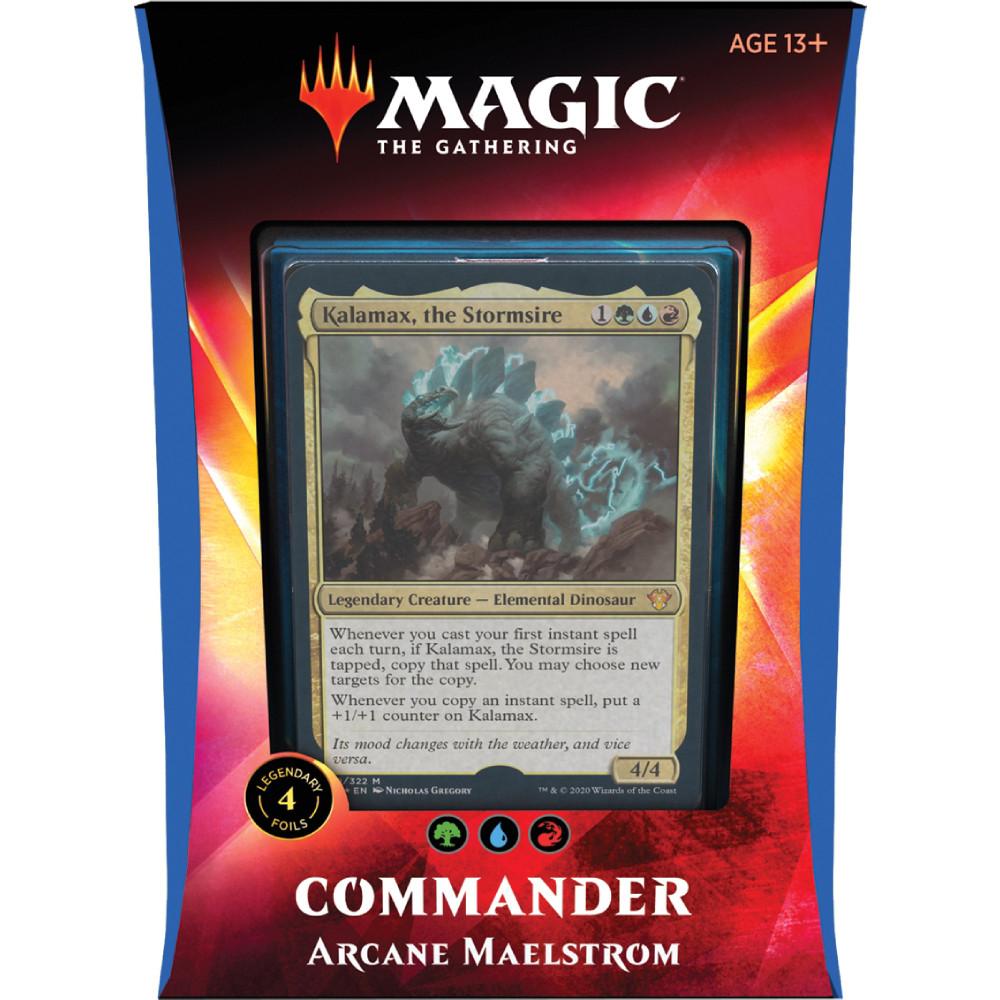 Magic the Gathering Commander 2020 Arcane Maelstrom