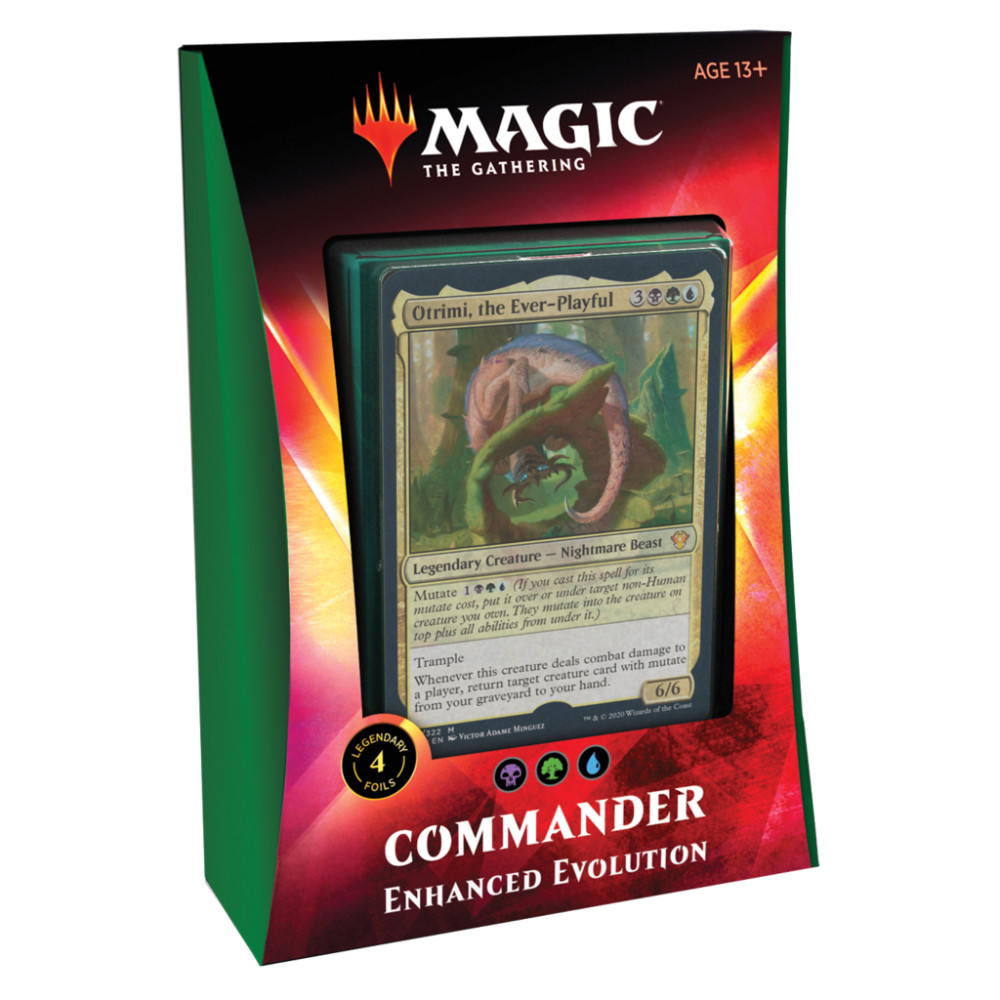 Magic the Gathering Commander 2020 Enhanced Evolution