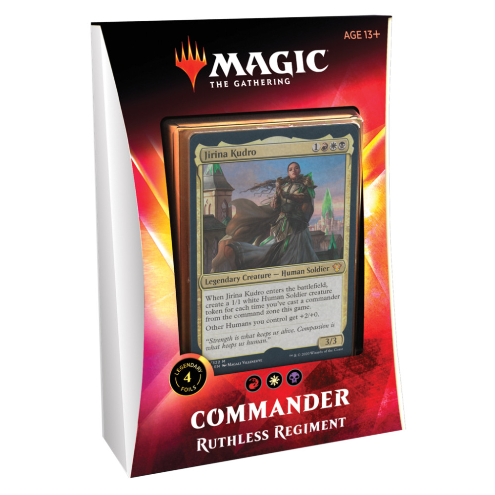 Magic the Gathering Commander 2020 Ruthless Regiment