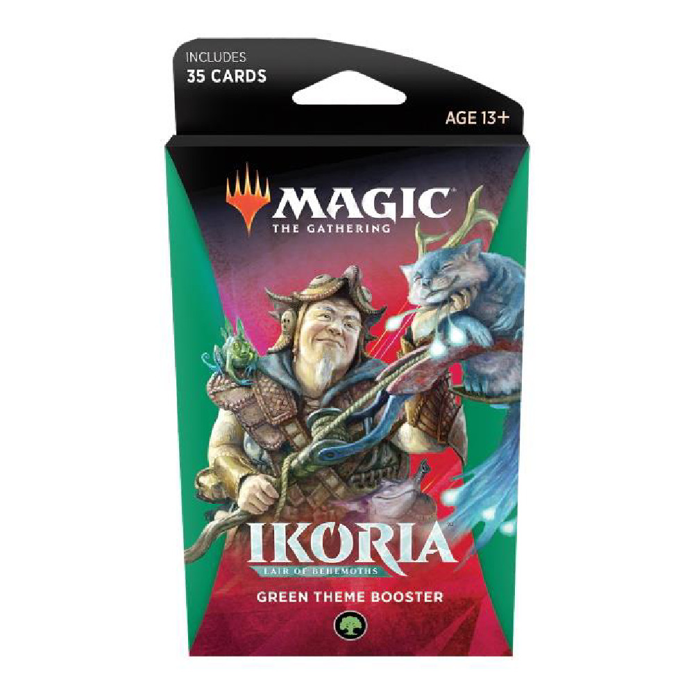 Magic the Gathering Ikoria Lair of Behemoths Theme Booster Green