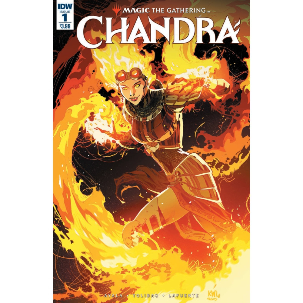 Limited Series - MtG Chandra Coperta A