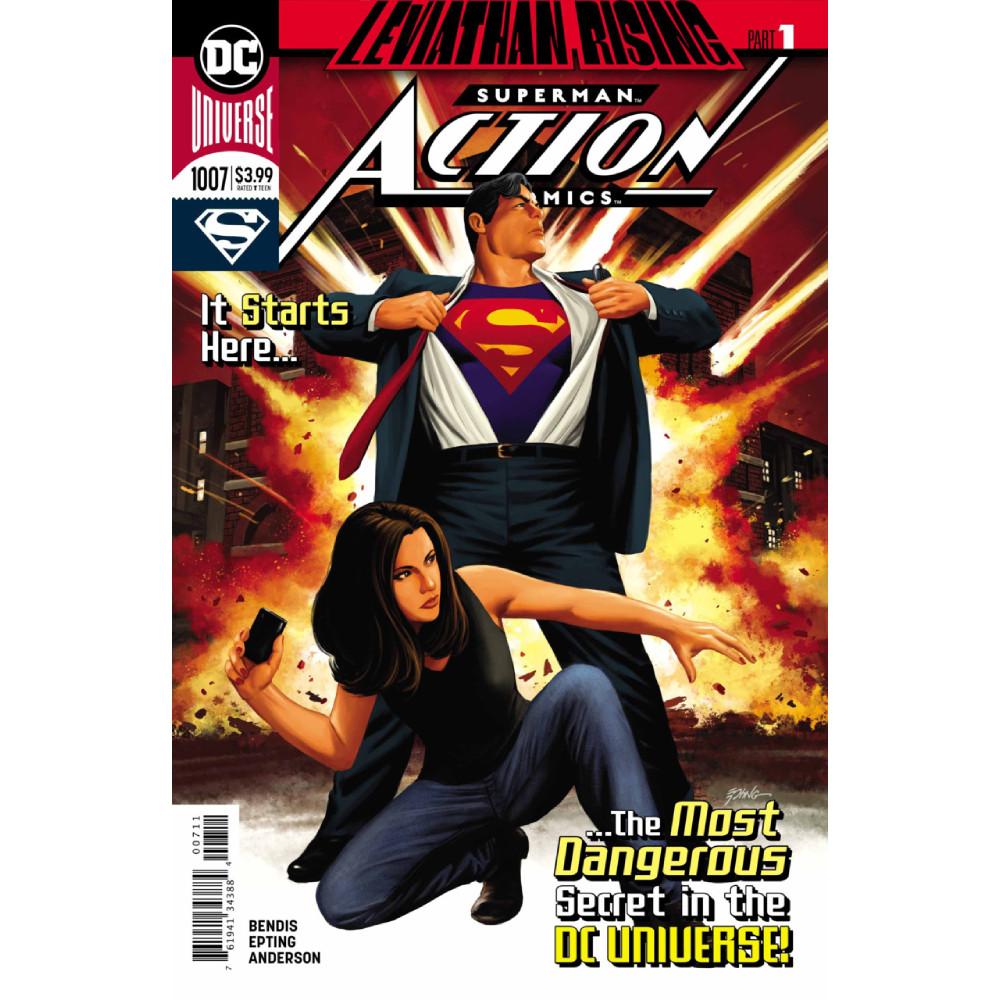 Story Arc - Action Comics - Leviathan Rising