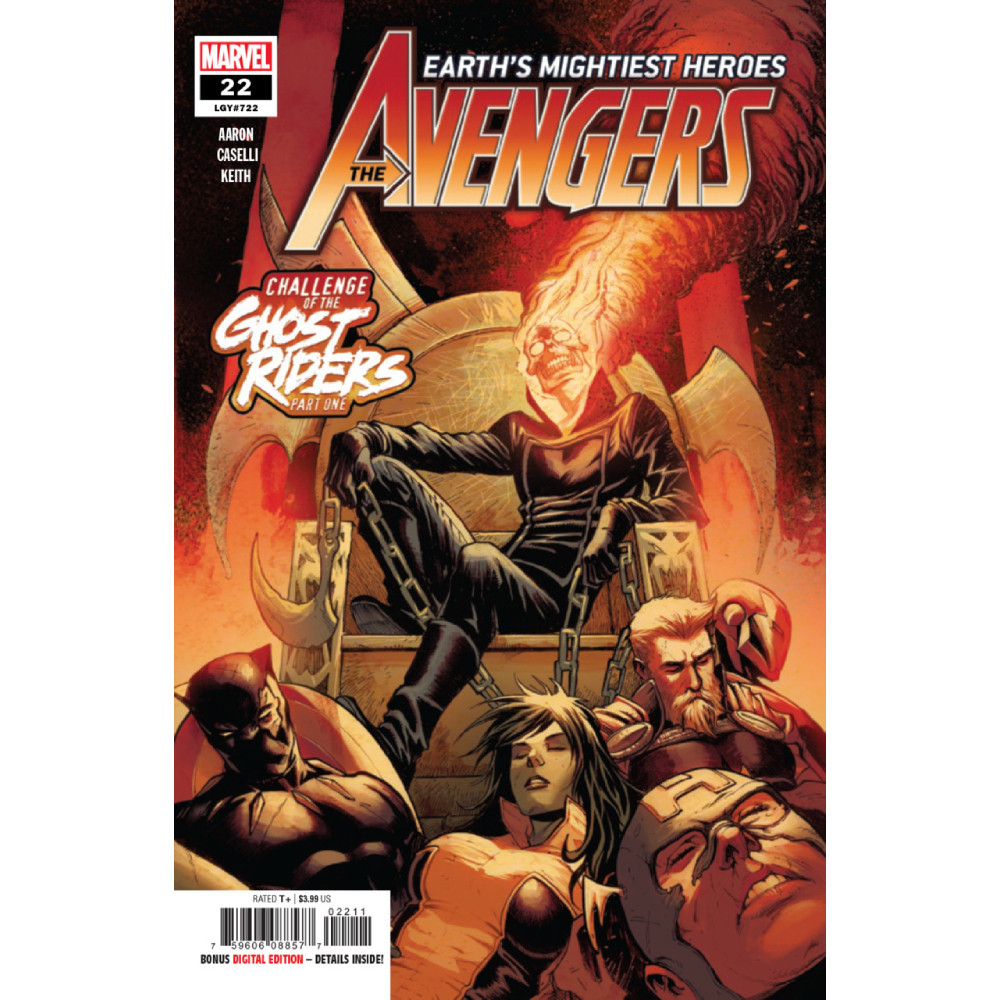 Story Arc - Avengers - Challenge of the Ghost Riders