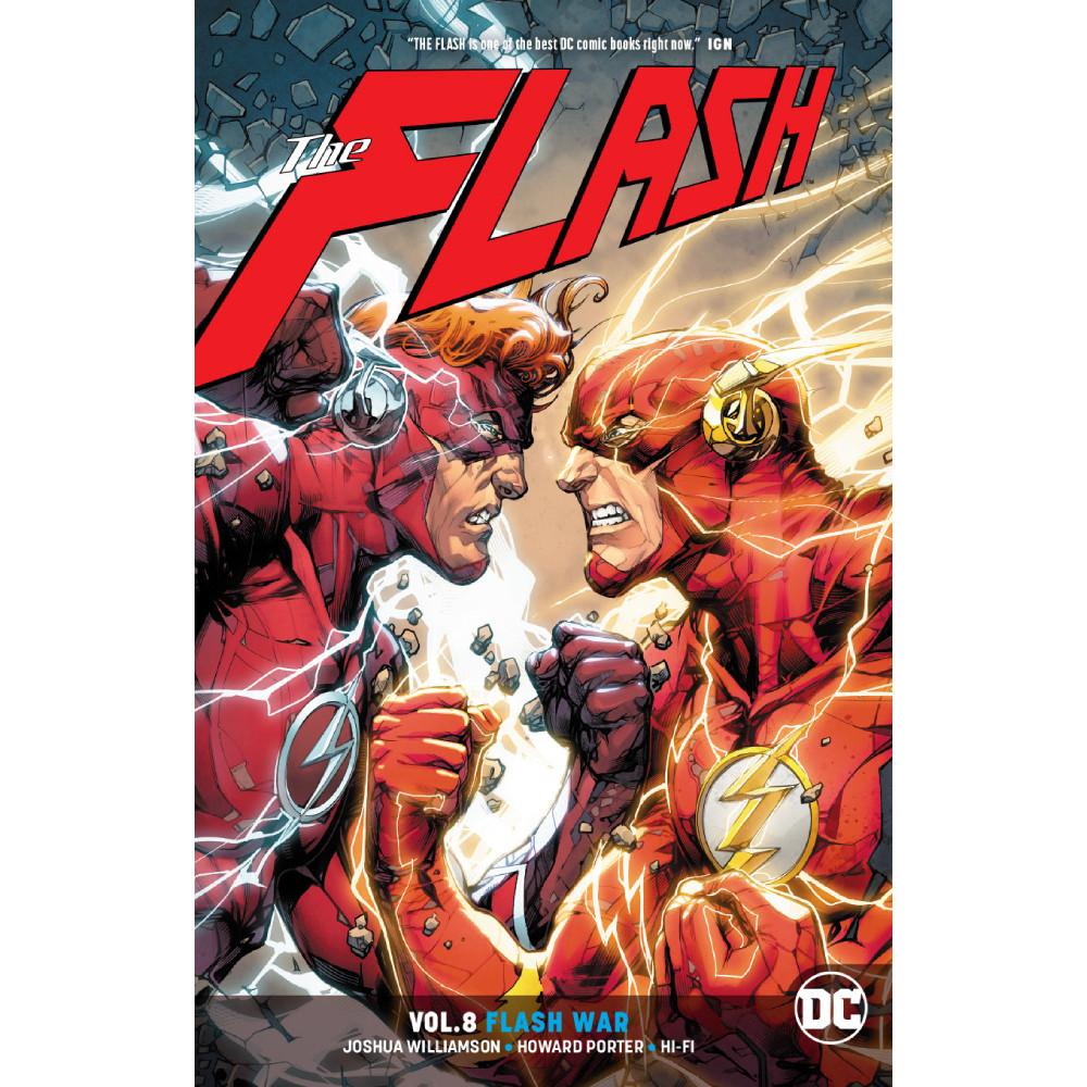 Flash TP Vol 08 Flash War