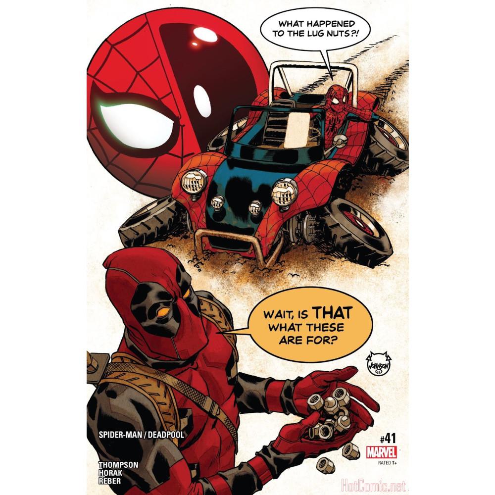 Spider-Man Deadpool TP Vol 08 Road Trip imagine