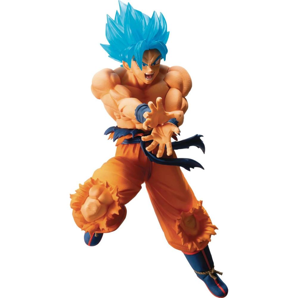 Figurina PVC Dragon Ball Ichibansho Super Saiyan God Super Saiyan Son Goku 16 cm