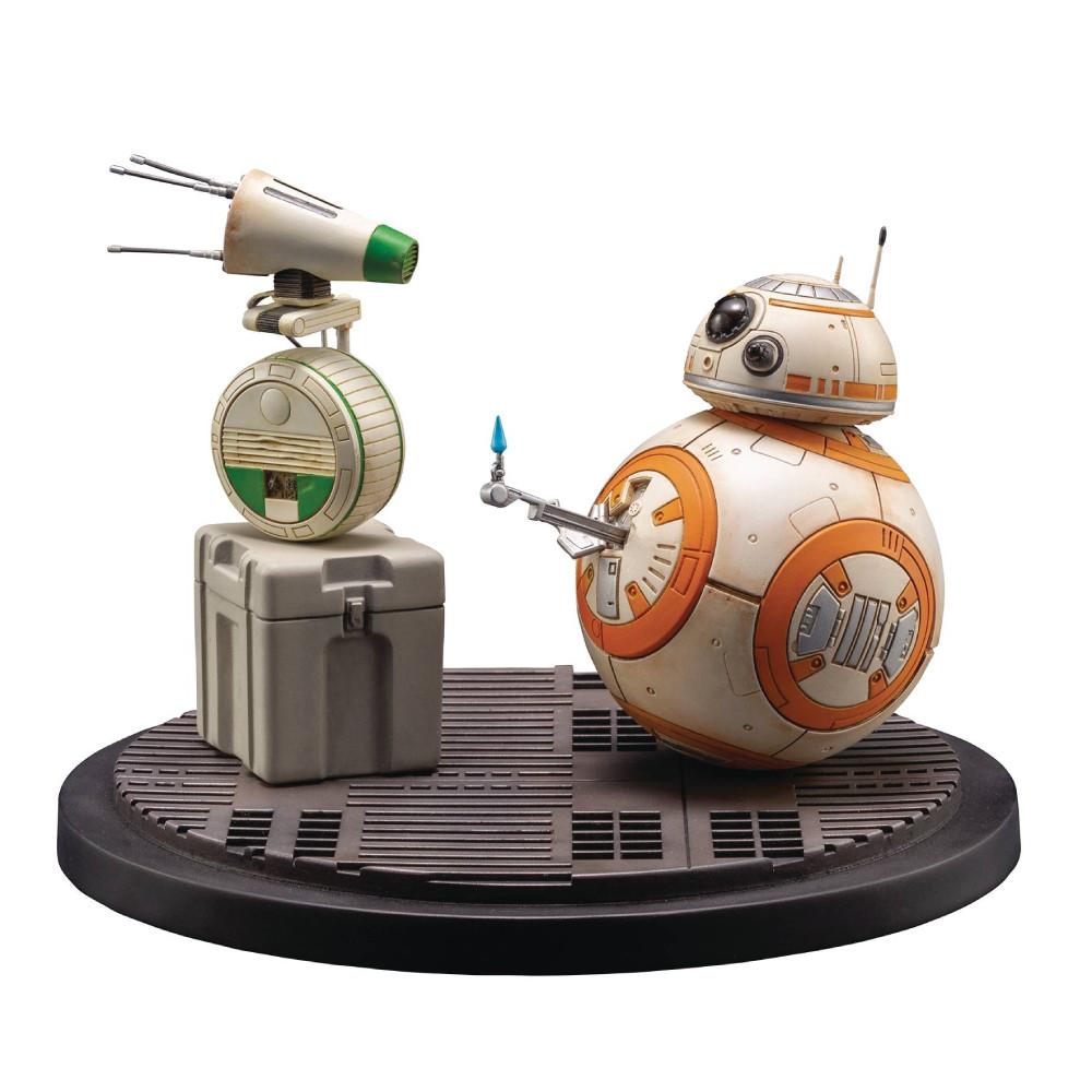 Set 2 Figurine Star Wars Episode IX ARTFX+ 1/7 D-O & BB-8 13 cm