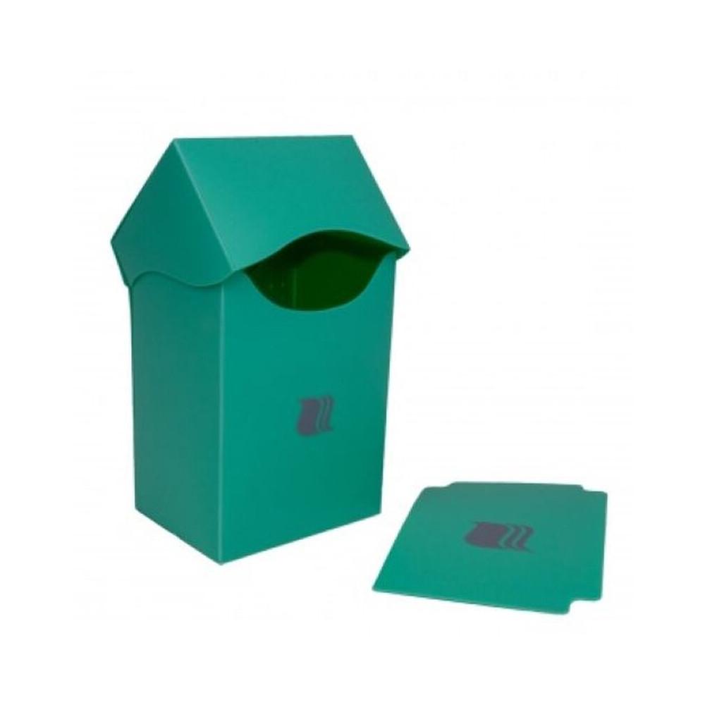 Cutie Depozitare Blackfire Deck Holder Vertical 80+ Carti Verde - 4