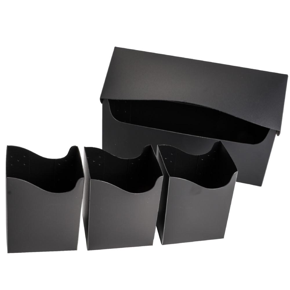 Cutie Depozitare Blackfire Triple Deck Holder (240+) Negru