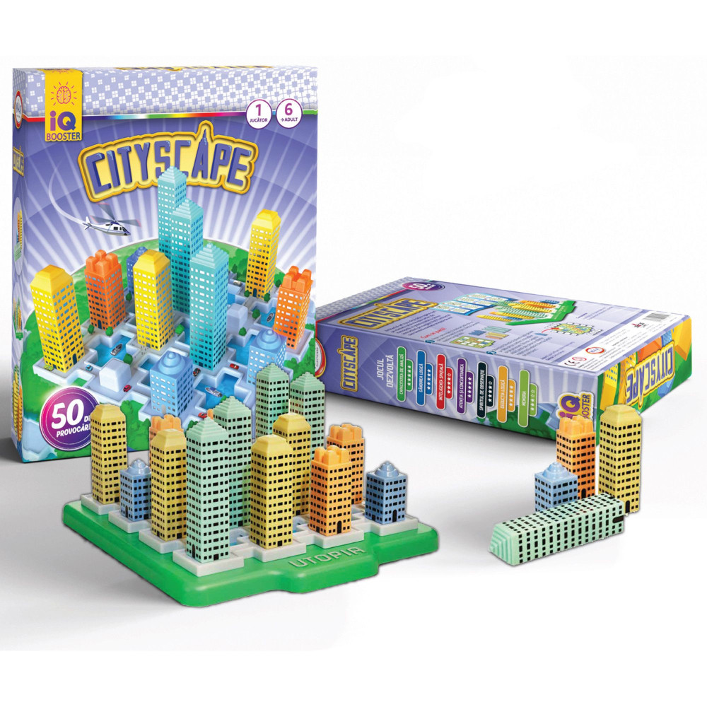 IQ Booster Cityscape - 1