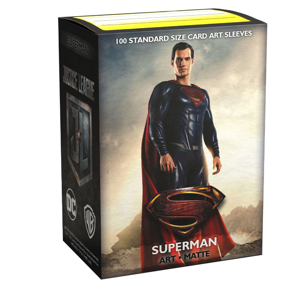 Sleeve-uri Justice League Matte Art Sleeves Superman 100 Bucati