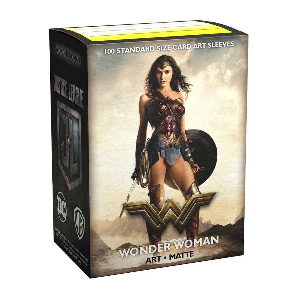 Sleeve-uri Justice League Matte Art Sleeves Wonder Woman 100 Bucati