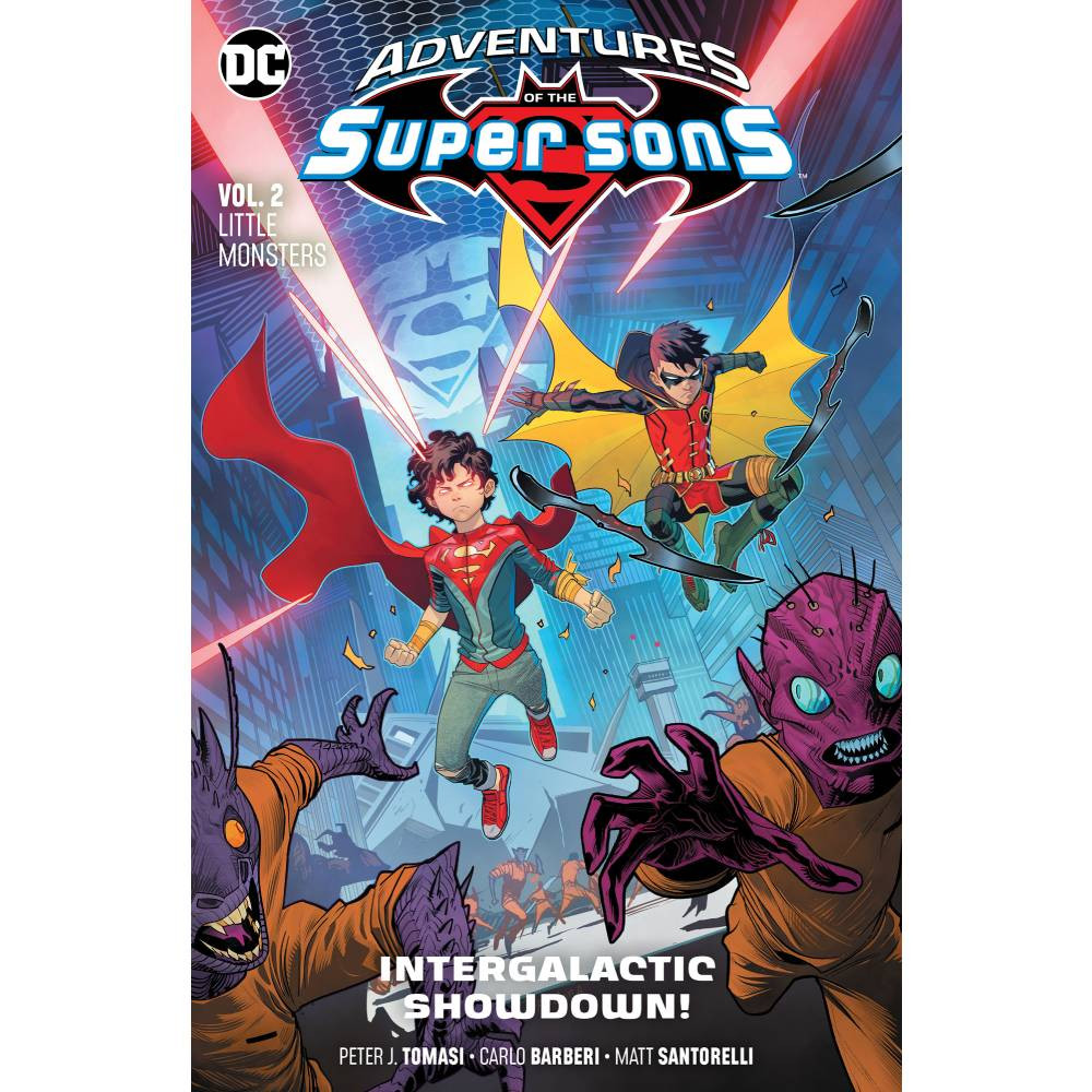 Adventures of The Super Sons TP Vol 02 Little Monsters imagine