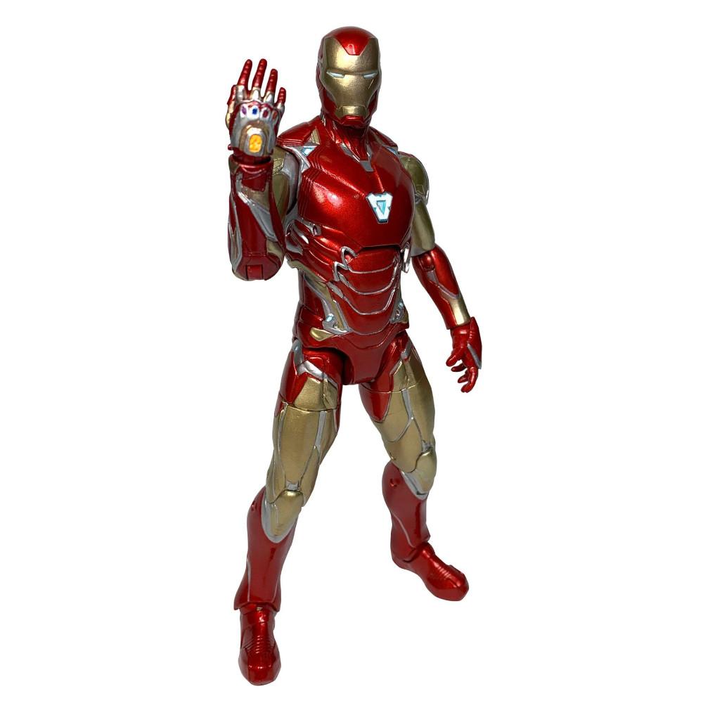 Figurina Articulata Marvel Select Avengers 4 Iron Man MK85 imagine