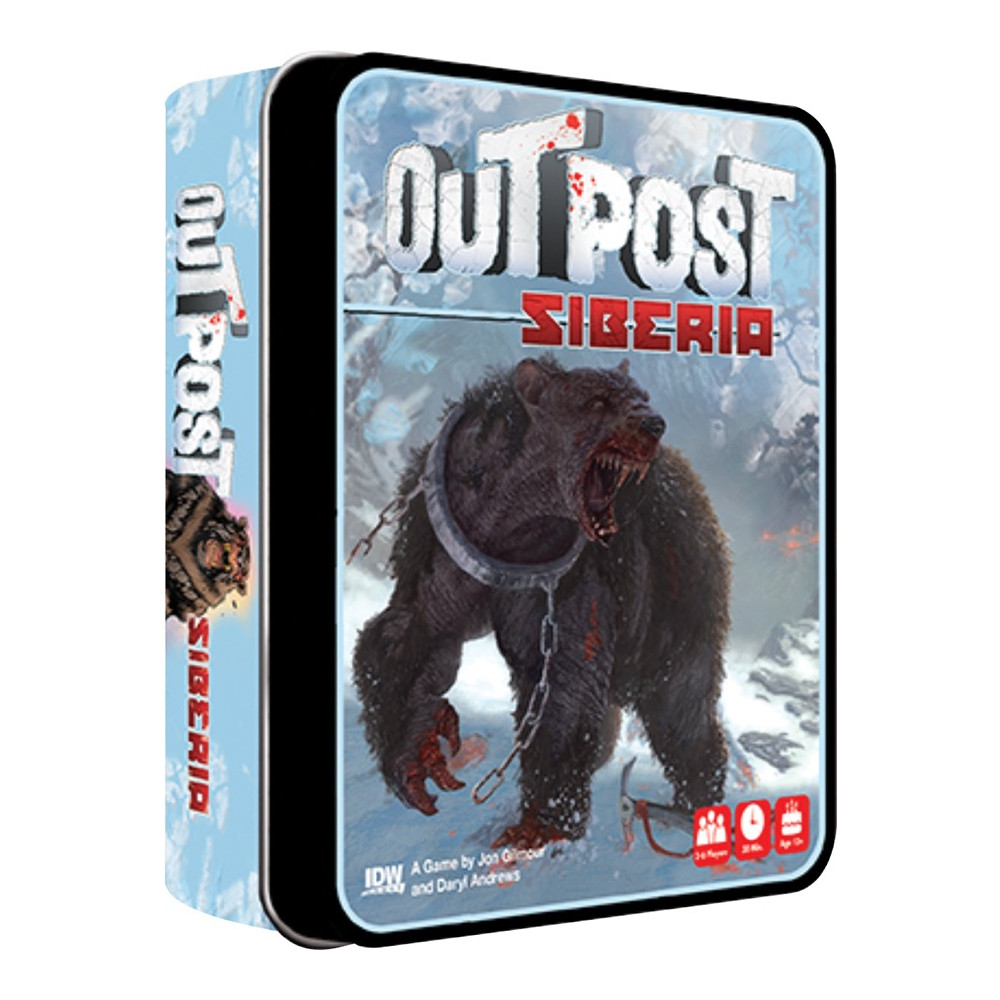 Outpost Siberia Card Game imagine