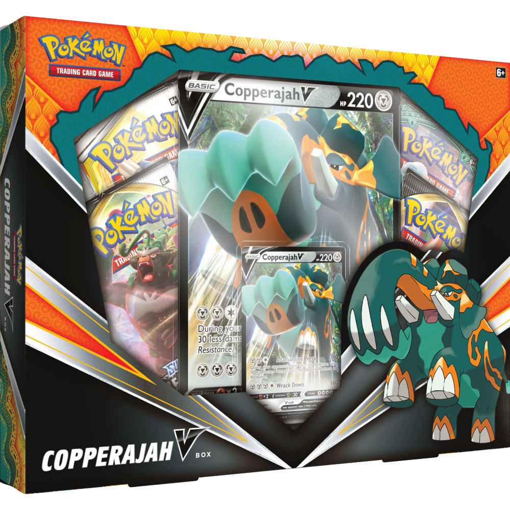 Pokemon Trading Card Game Copperajah V Box imagine