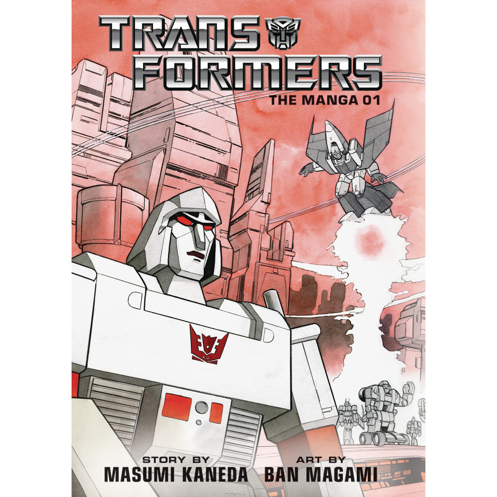 Transformers Classic TV Magazine Manga HC Vol 01 Px Ed
