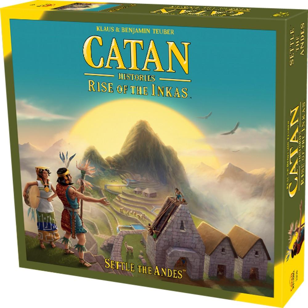 Catan Rise of the Inkas DETERIORAT