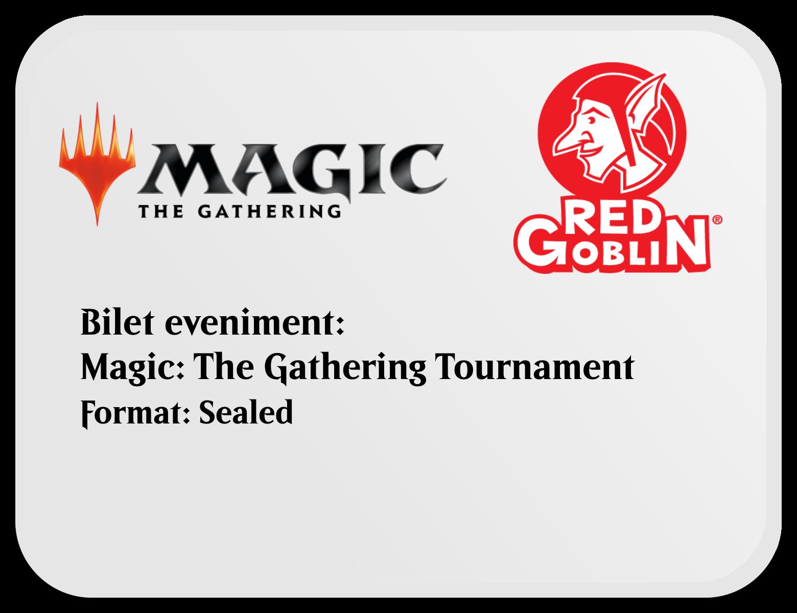 Bilet Eveniment Magic: the Gathering - Sealed