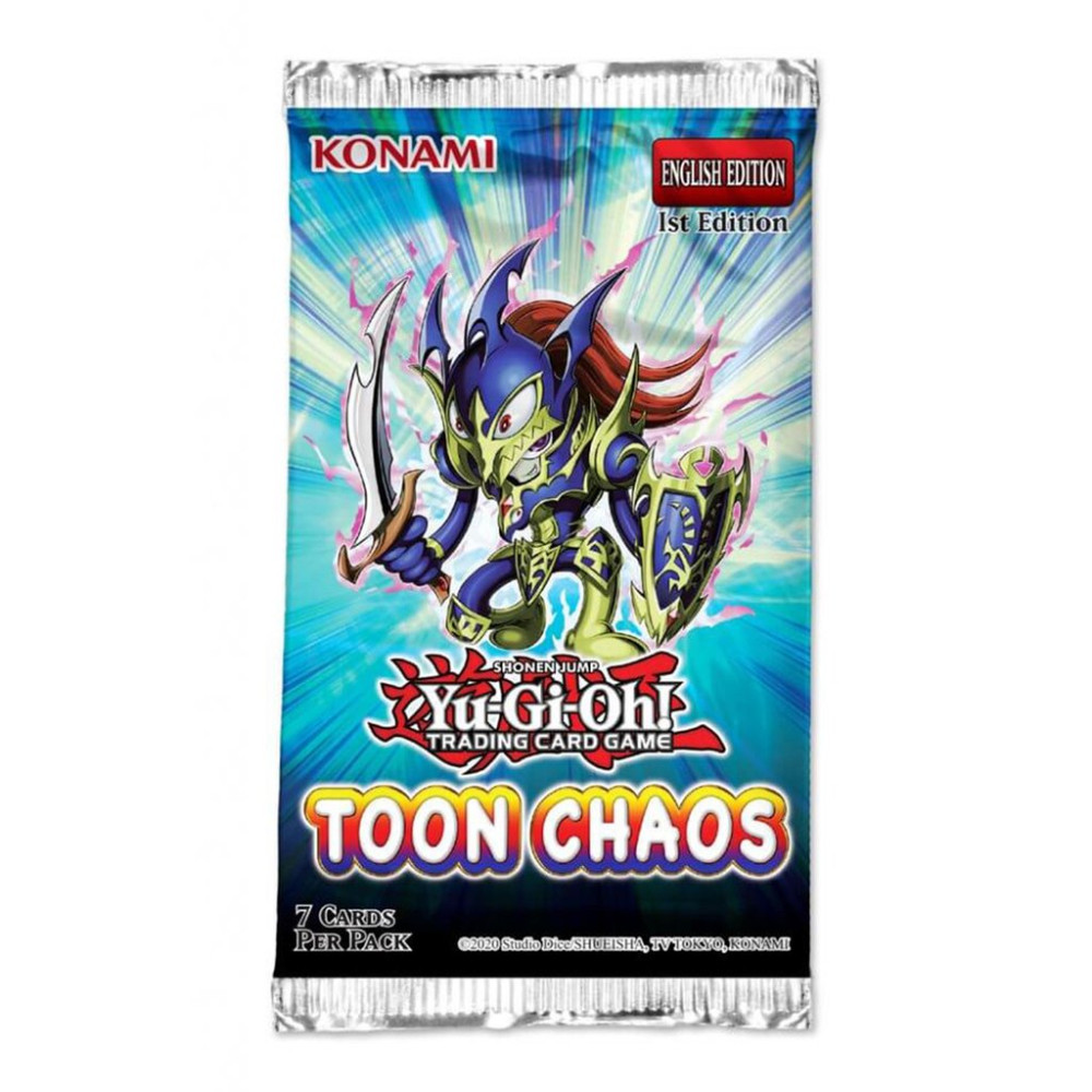 Yu-Gi-Oh! Toon Chaos Booster Pack