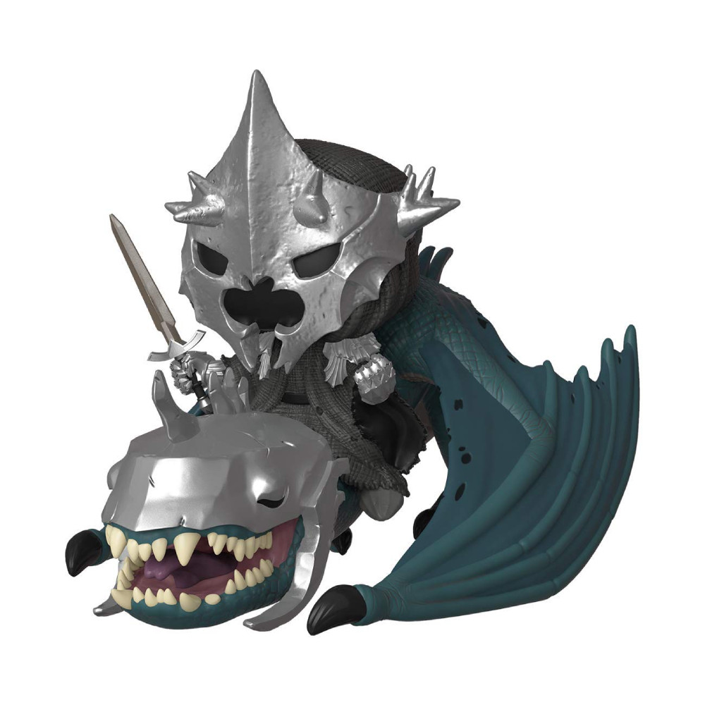 Figurina Funko Pop Lord Of The Rings Witch King cu Fellbeast imagine