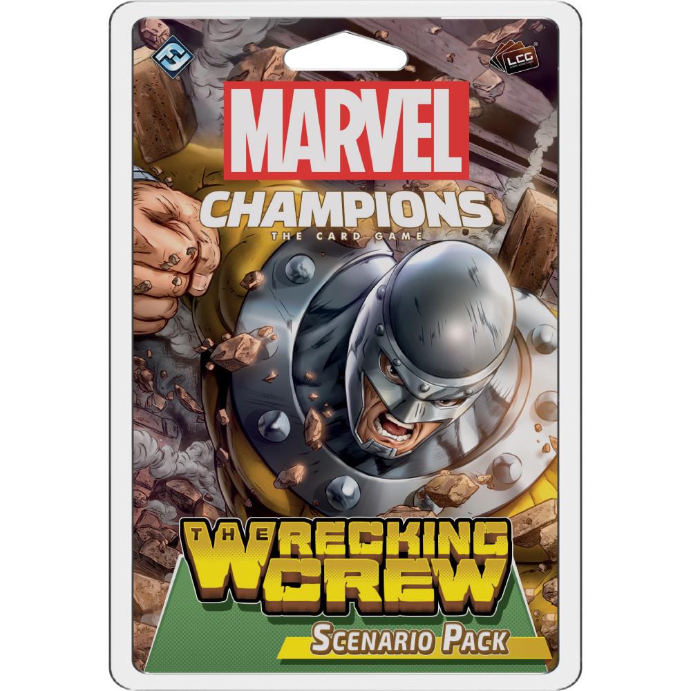 Marvel Champions The Wrecking Crew Scenario Pack