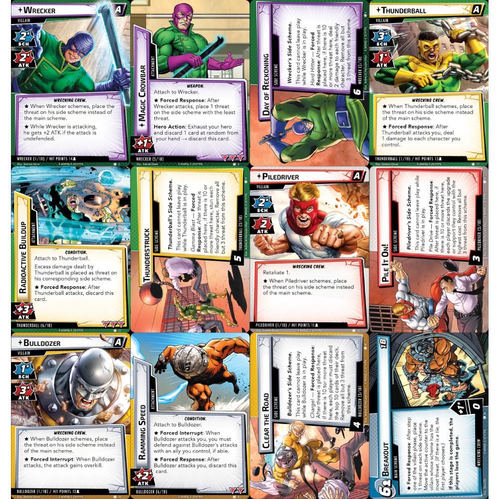 Marvel Champions The Wrecking Crew Scenario Pack - 1
