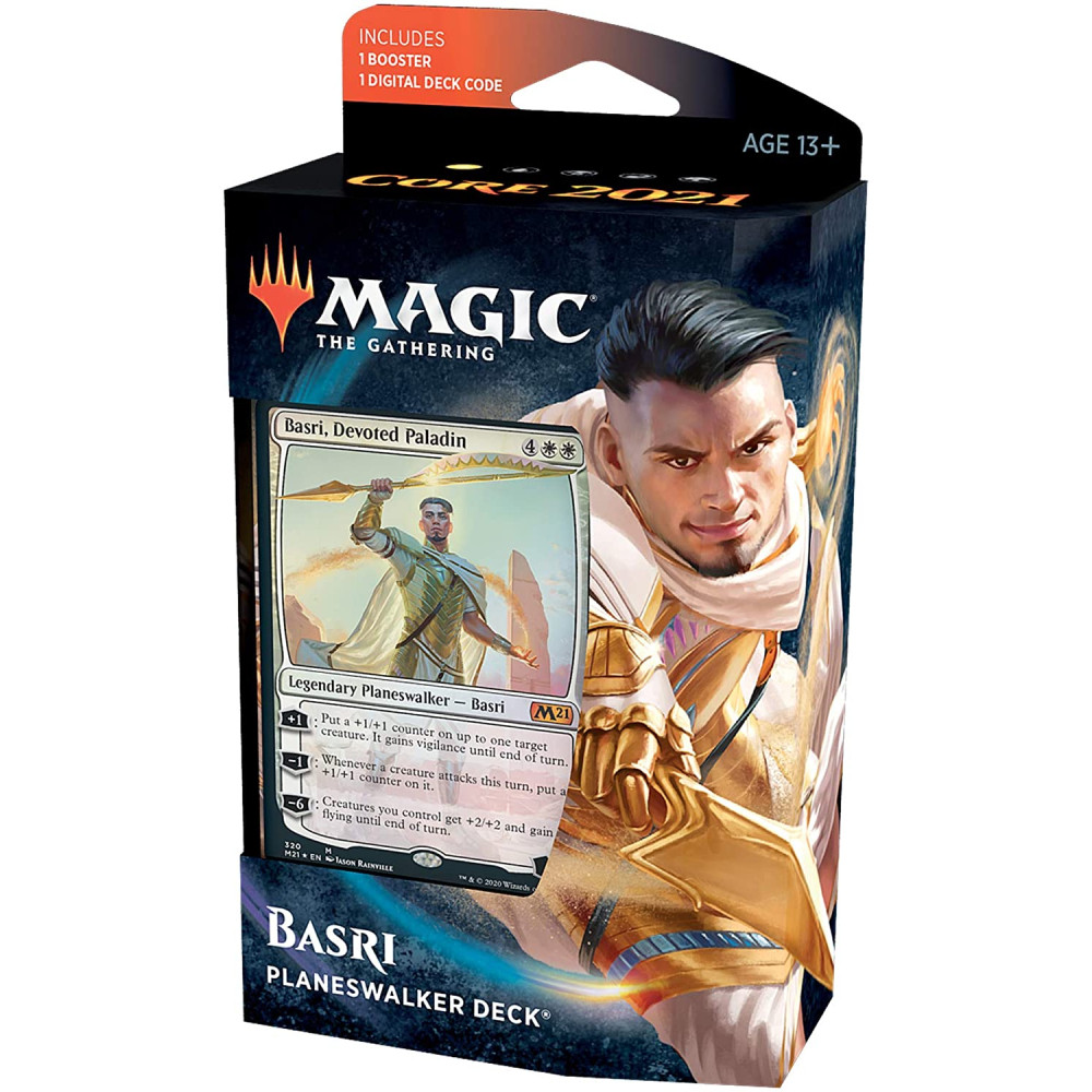 Magic the Gathering Core Set 2021 Planeswalker Deck Basri