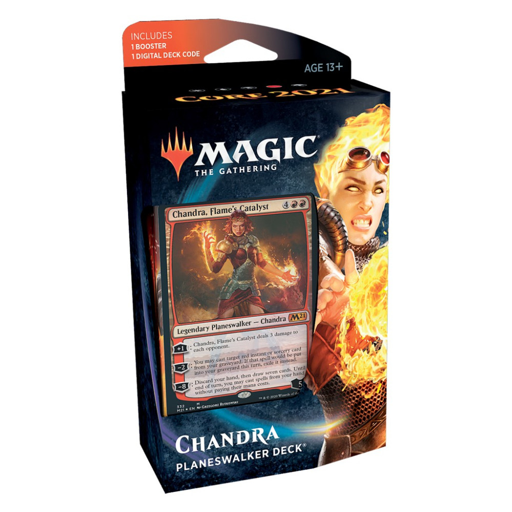 Magic the Gathering Core Set 2021 Planeswalker Deck Chandra