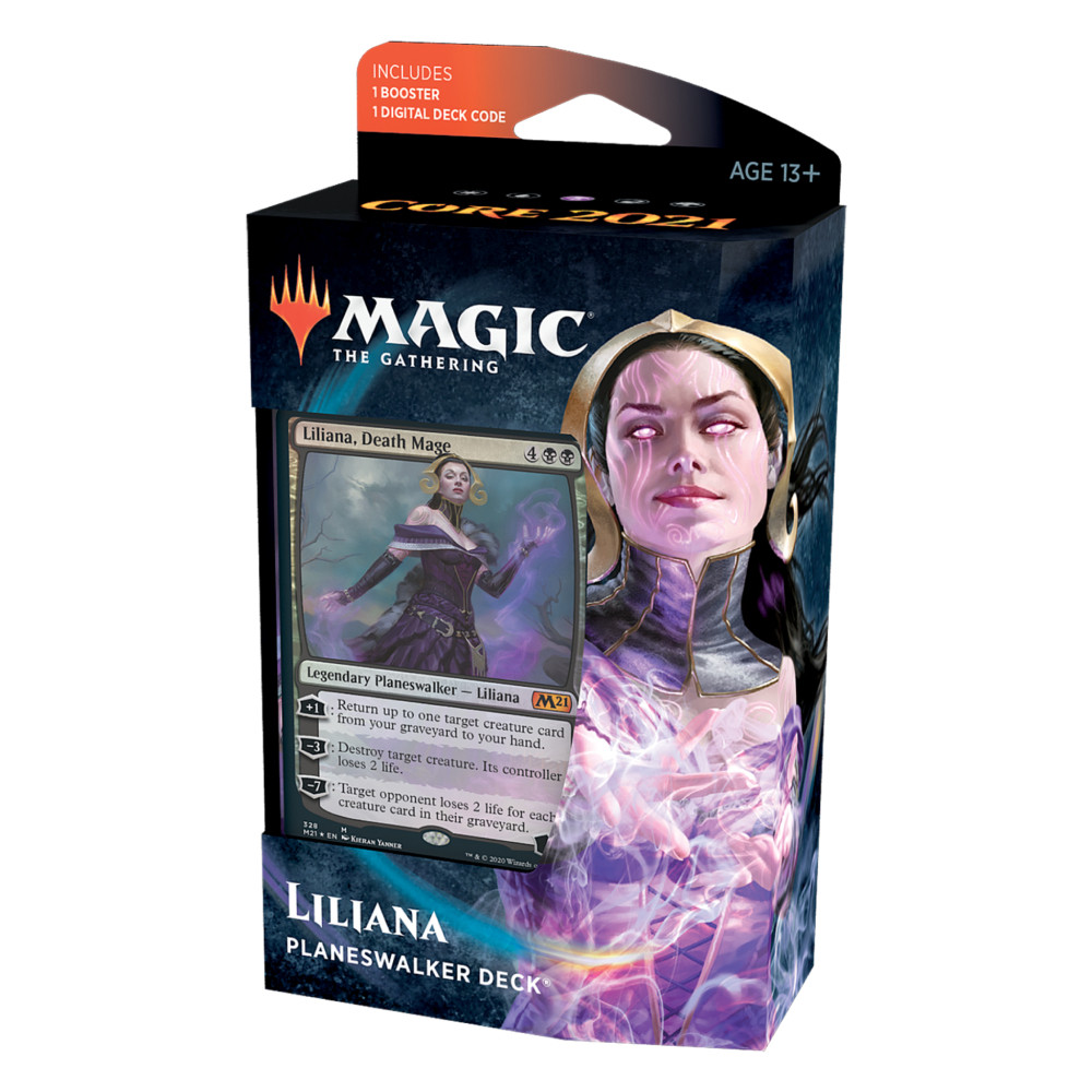 Magic the Gathering Core Set 2021 Planeswalker Deck Liliana