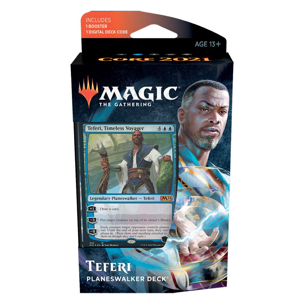 Magic the Gathering Core Set 2021 Planeswalker Deck Teferi
