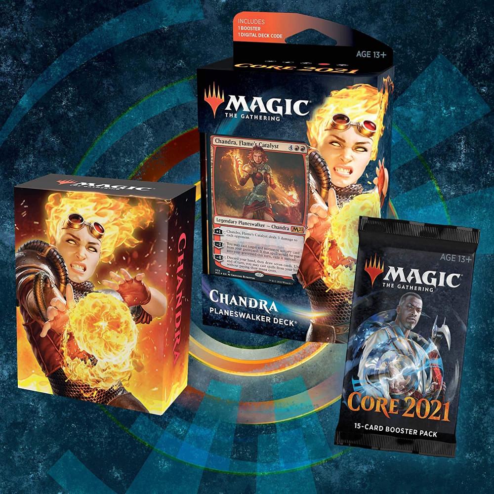 Magic the Gathering Core Set 2021 Planeswalker Deck Chandra - 1