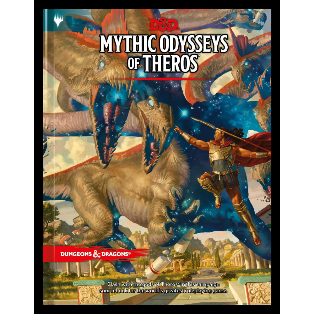 Ghid Dungeons & Dragons Mythic Odysseys of Theros