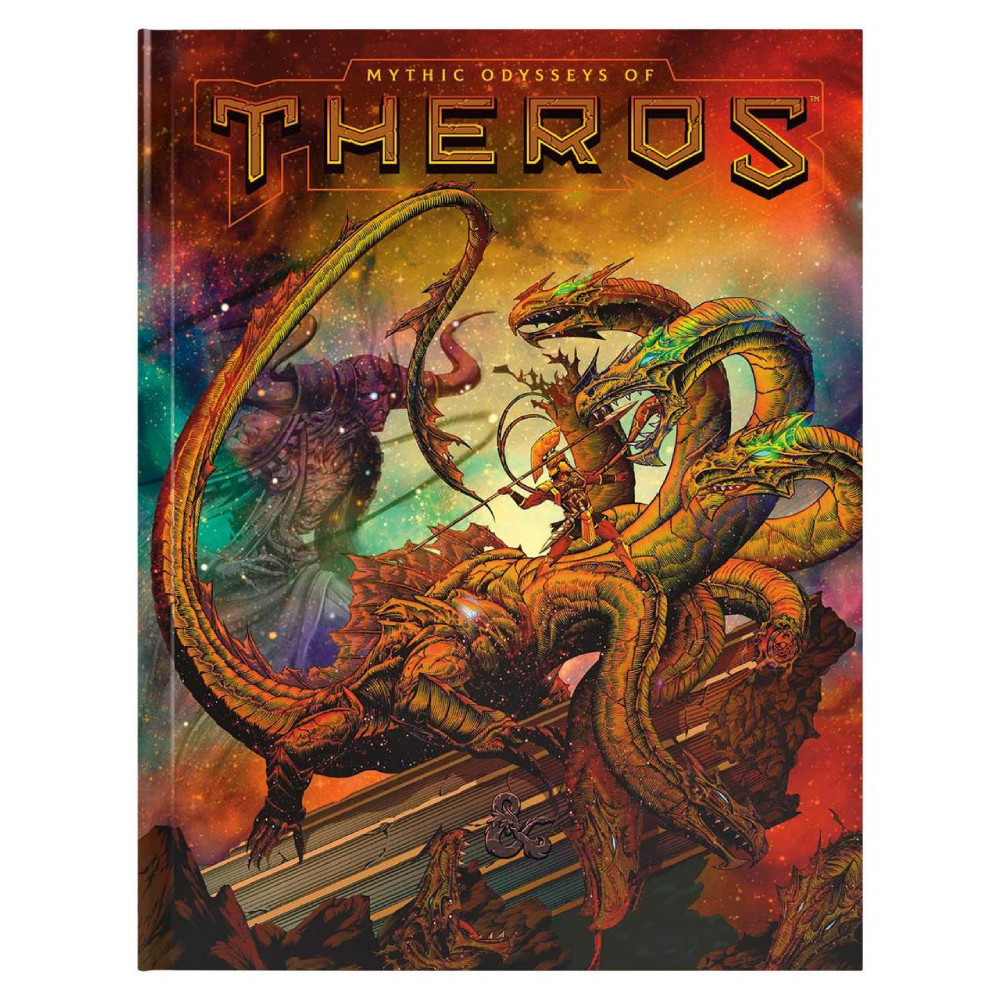 Ghid Dungeons & Dragons Mythic Odysseys of Theros Limited Edition (Alternate Cover)