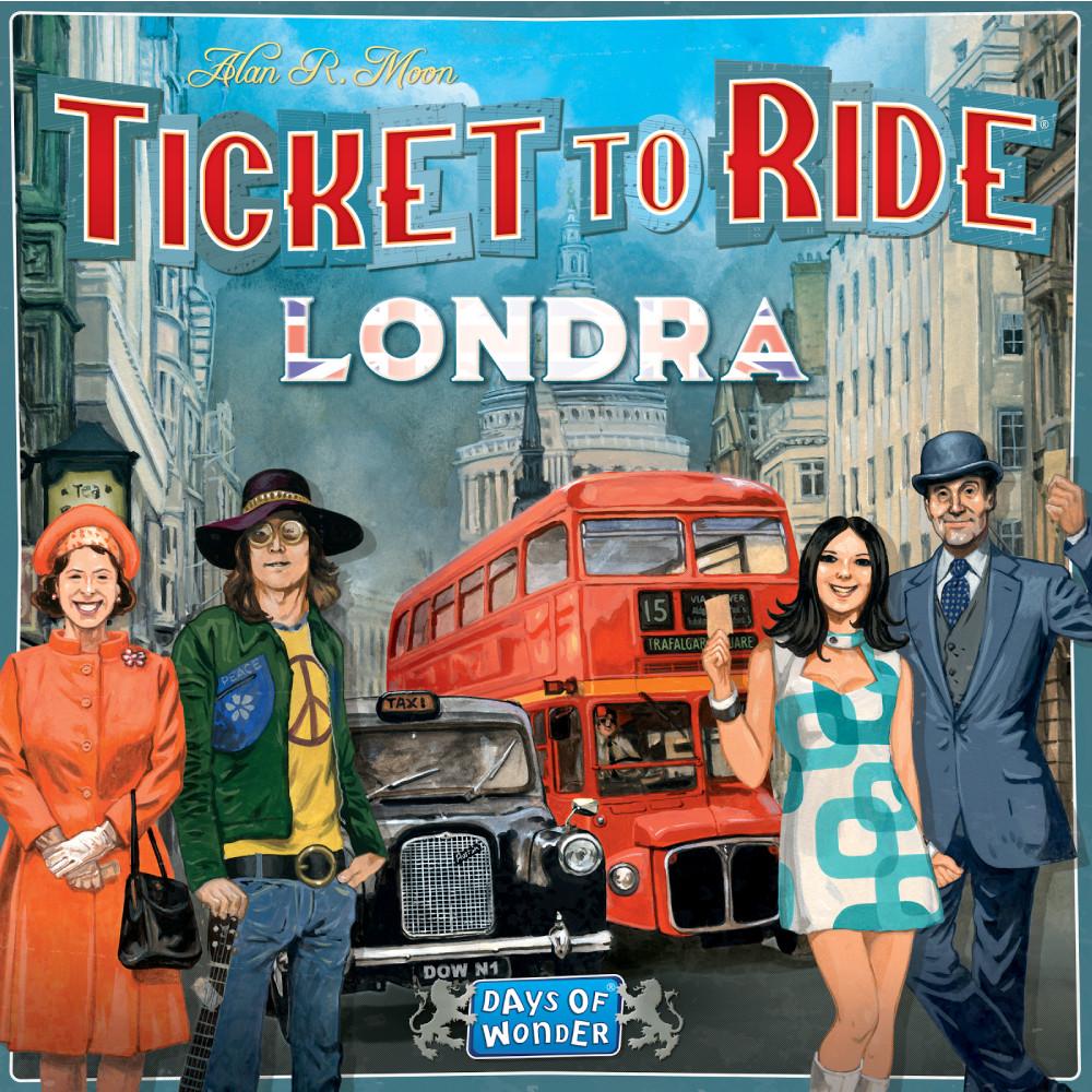 Ticket to Ride London (editie in limba romana)