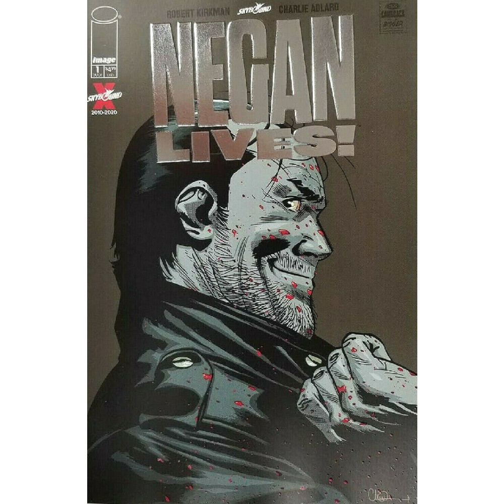 Negan Lives 01 Silver var