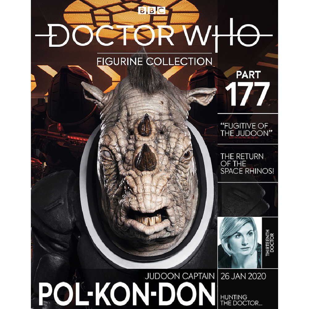 Doctor Who Figure Collection 177 Judoon