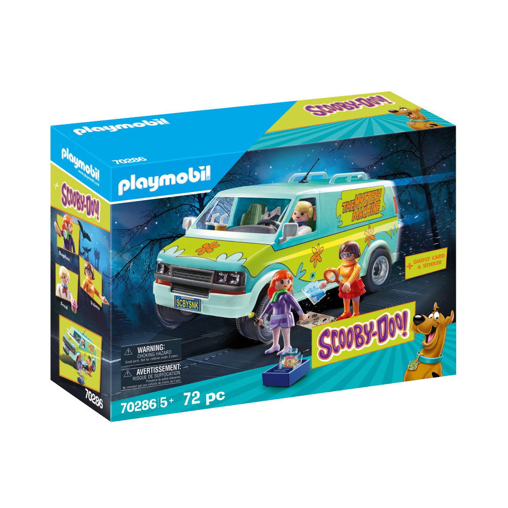 Set Playmobil Scooby Doo Mystery Machine